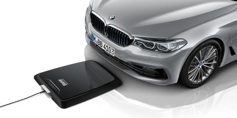BMW first to market with wireless charging