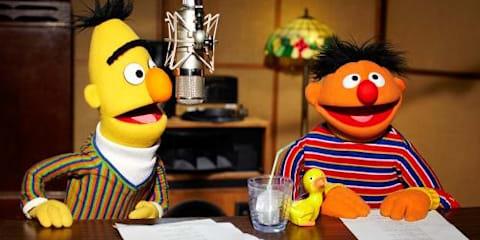 Bert & Ernie voice application for TomTom satellite navigation