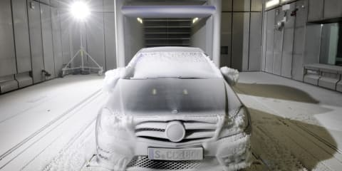 Video: Mercedes-Benz starts all-climate wind tunnel testing
