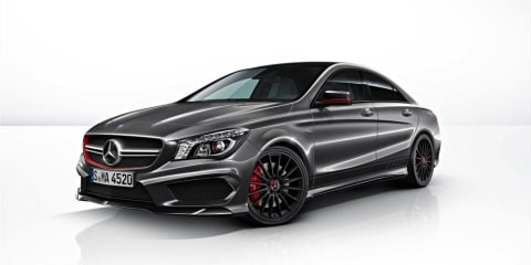 Mercedes-Benz CLA45 AMG Edition 1: performance pack not for Oz