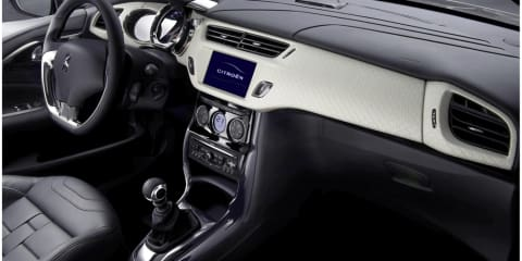 Citroën reveals inside of new DS3