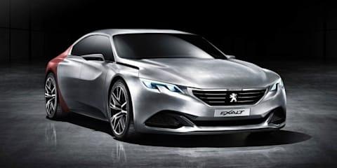 Peugeot Exalt :: sporty four-door coupe revealed