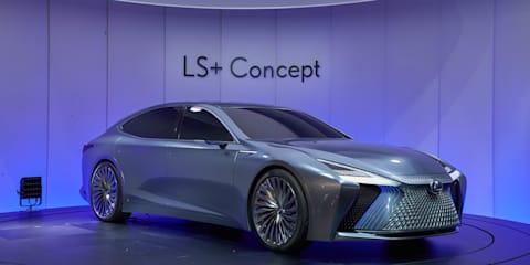 Lexus LS+ Concept launched in Tokyo