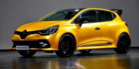 2017 Renault Clio RS 'KZ 01' leaked: more power, bolder styling