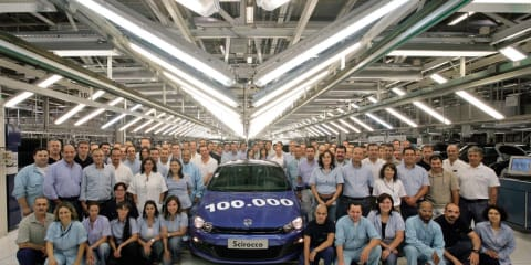 Volkswagen Scirocco production reaches 100,000