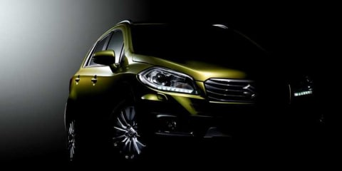 Suzuki crossover: first official images