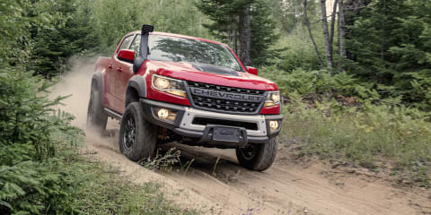 Chevrolet Colorado ZR2 Bison revealed