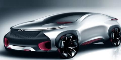 Chery FV2030 concept teased ahead of Beijing motor show