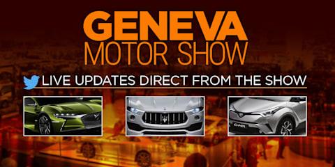 2016 Geneva motor show:: LIVE feed