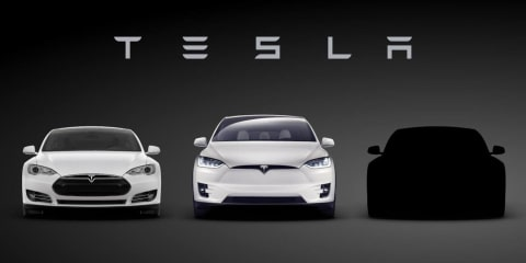Tesla Model 3 teased ahead of April 1 launch