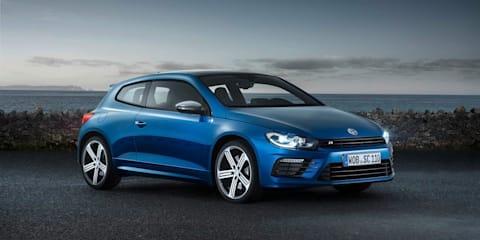 Volkswagen Scirocco facelift revealed