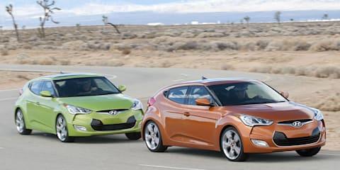 2012 Hyundai Veloster unveiled at Detroit Auto Show
