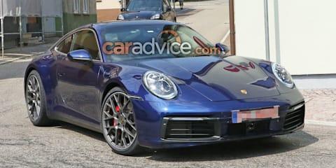2019 Porsche 911 spied practically undisguised