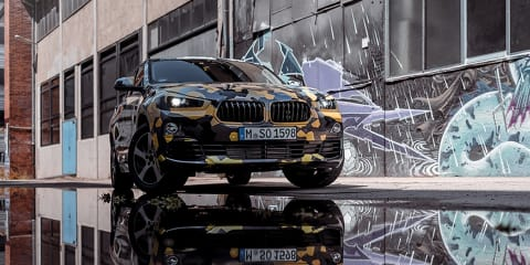 2018 BMW X2 teased again