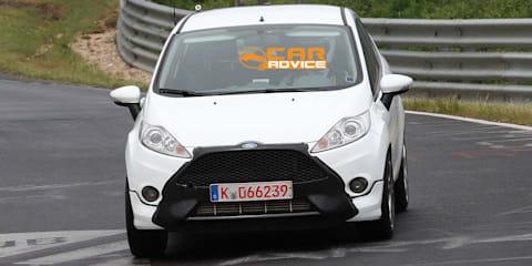 2012 Ford Fiesta ST spy shots