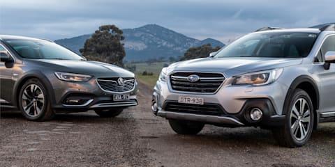 2018 Holden Calais-V Tourer v Subaru Outback 3.6R