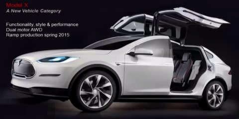 "Tesla Model X : Delayed luxury SUV to look ""better"" and appeal to women"