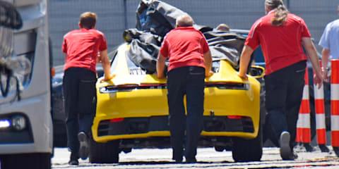 2019 Porsche 911 spied undisguised