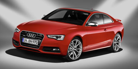 Audi A5 Coupe gets DTM Champion badges