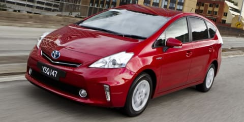 Toyota Australia recalls 2900 Prius V cars for stalling glitch: 625,000 affected globally