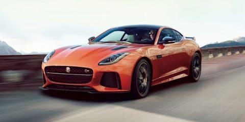 Jaguar F-Type SVR pictures and details leaked online - UPDATED