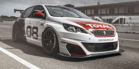 Peugeot 308 Racing Cup revealed as RCZ track car replacement - video