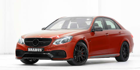 Brabus 850 6.0 Biturbo: Enlarged motor gives E63 AMG 625kW/1150Nm to play with