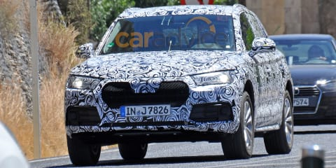 2016 Audi Q5 spy photos