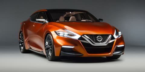 Nissan Sport Sedan concept previews next US-market Maxima