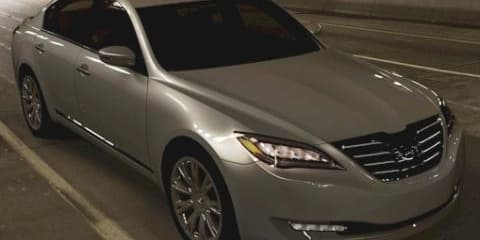 Hyundai Genesis V8 Rear Wheel Drive