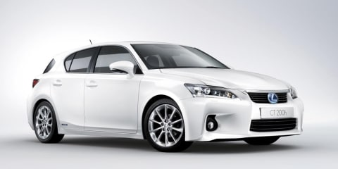 2010 Lexus CT 200h officially unveiled