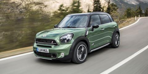 Mini Countryman :: updated SUV gains styling, performance tweaks