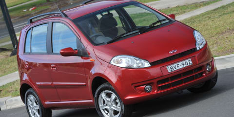 2011 Chery J1 on sale in Australia