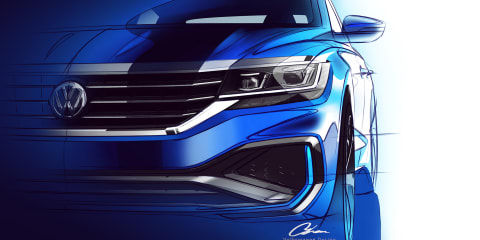 2020 Volkswagen Passat teased for the US