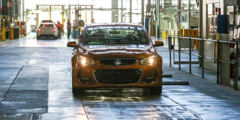 Holden pays tribute to 69 years of Australian vehicle manufacturing