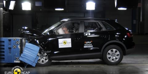 Audi Q3, BMW 1 Series, Hyundai Veloster awarded five-star Euro NCAP safety rating