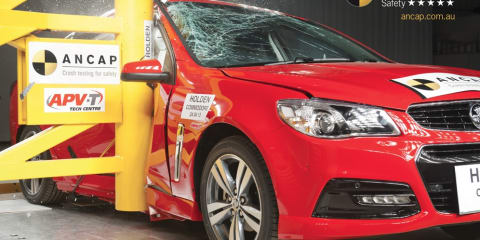 Holden VF Commodore scores five-star ANCAP safety rating