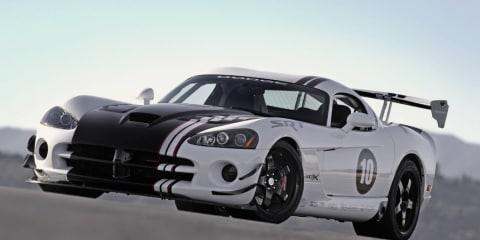 2010 Dodge Viper SRT10 ACR-X begins production
