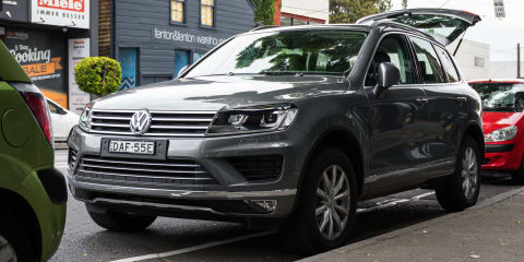 2016 Volkswagen Touareg recalled for airbag fix - UPDATE