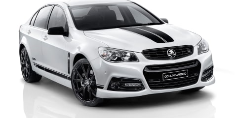 Collingwood Edition Holden Commodore released