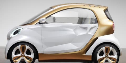 smart forvision Concept EV to be unveiled at 2011 Frankfurt Motor Show