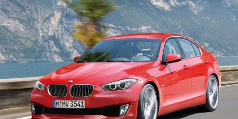 2012 BMW 3 Series rendering