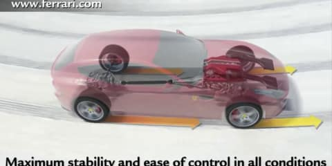 Video: Ferrari FF 4RM all-wheel drive system explained