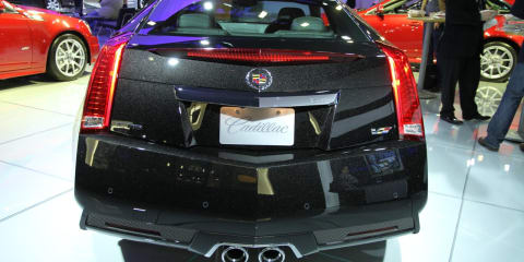 Cadillac CTS-V Coupe at New York Show