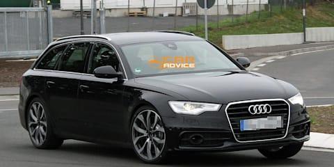 2012 Audi S6 Avant revealing spy shots