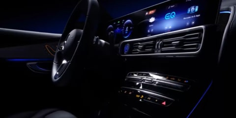 2019 Mercedes-Benz EQC interior previewed