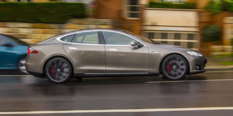 Tesla Model S adds Summon mode for fully automated parking - UPDATE