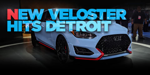 2018 Hyundai Veloster N walkaround: video