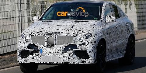 Mercedes-Benz MLC63 AMG spied