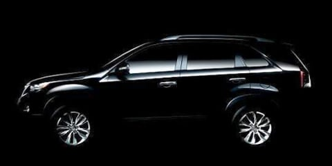 2010 Kia Sorento sneak peek